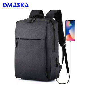 Trends 2019 OEM ODM Kunden Herren Frauen Durable USB Lade Wasserdichte Business Laptop Rucksack