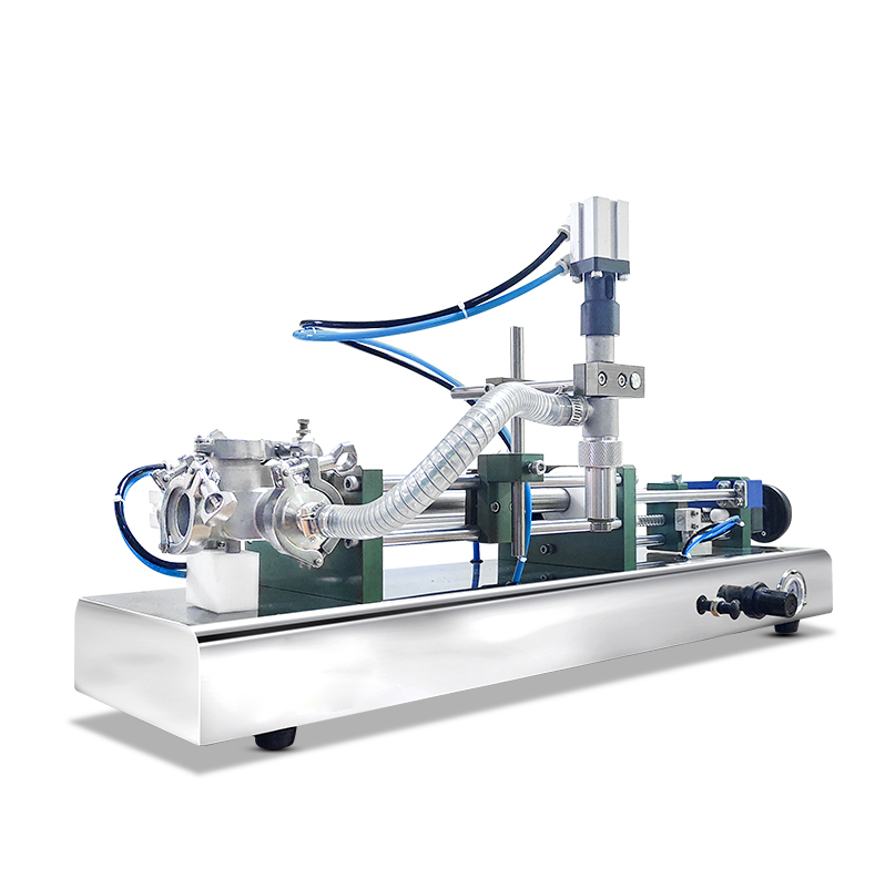 Micmachinery widely used semi automatic filling machine liquid with piston filler for liquid soap