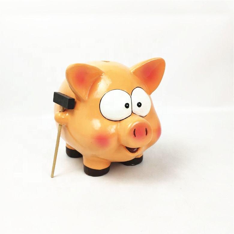 Venta al por mayor gran banco de dinero caja de ahorro de dinero de cerámica banco
