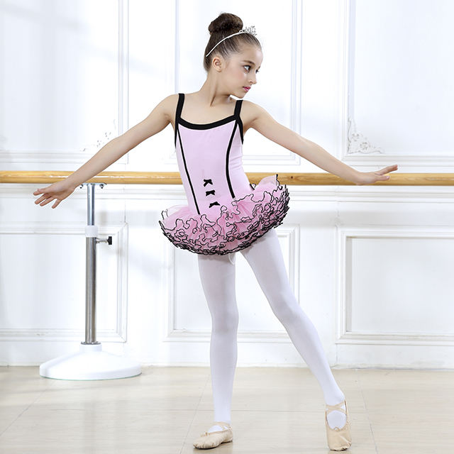 Baby girls Organza Ballet Tutu Leotard Performance Dress leotard dance baby leotard