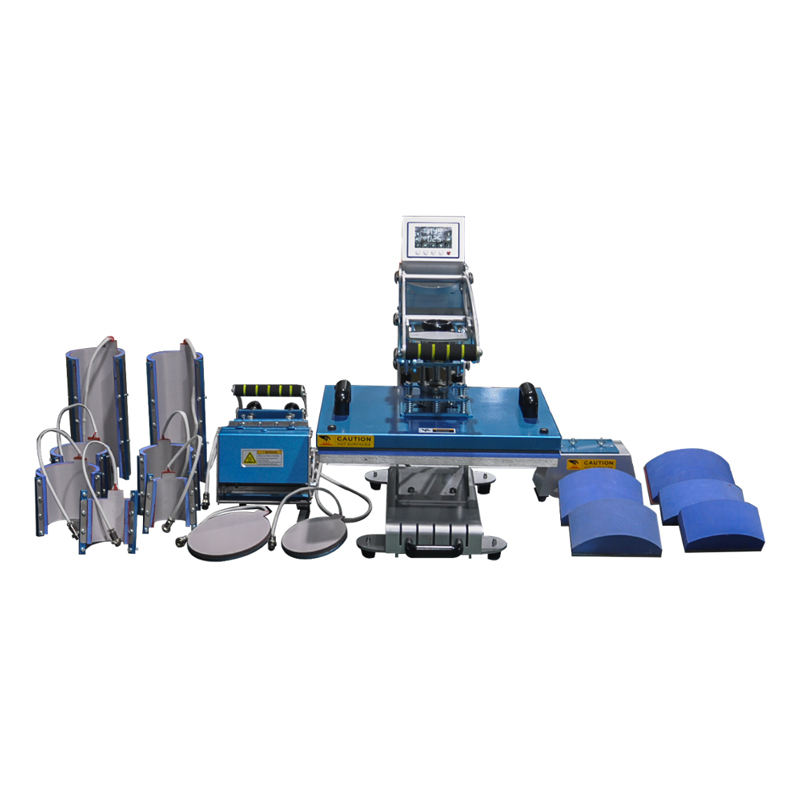8 in 1 multifunctional heat press machine 33x44cm