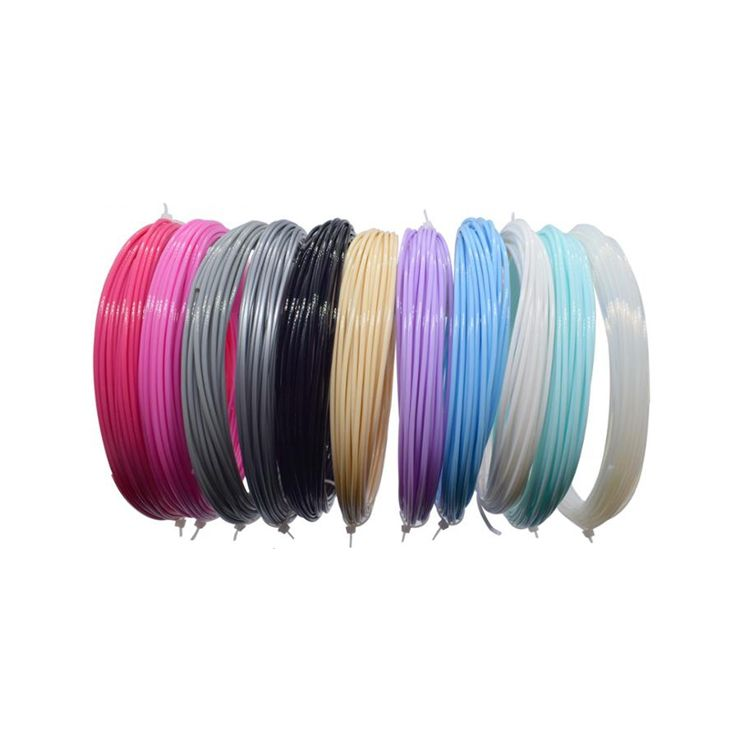 High quality pen 3d filament abc pla 3d pen filament set for kids gifts
