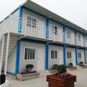 Design container house plans sandwich panel 20feet 40feet flat pack modular container houses made in china
