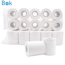 wholesale Cheap High Quality Recycled Pulp Bamboo Roll Toilet Tissue Paper