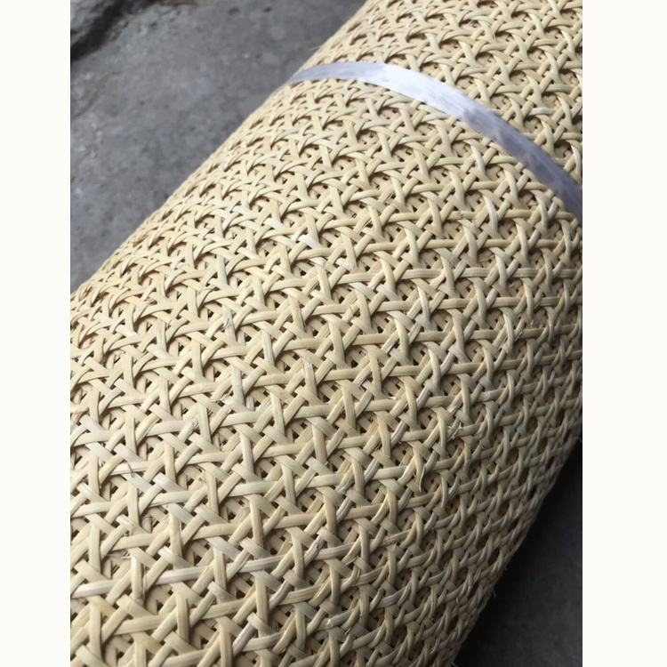 1/2 semi bleached rotan roll rattan mesh webbing wholesale in good quality