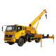 Loading 10/12/16/25 Tons Boom Arm 4x4 Crane Hydraulic Truck Cranes Price truck mounted mini crane truck for sale