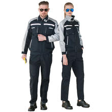 Polyester cotton fashion men's overalls