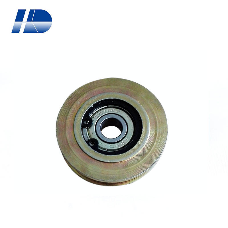 6mm ID 696 PU Coated Ball Bearing Pulley Wheel 85A Household Appliances