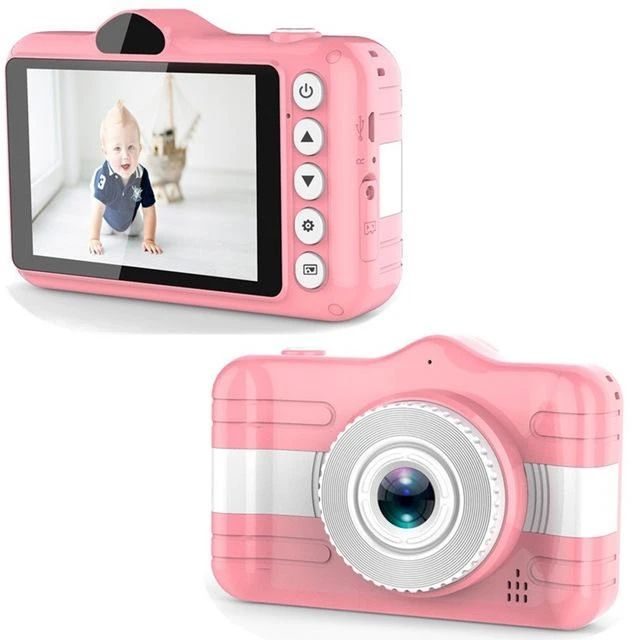 Camcorders for Children with Protective Cover Kid Cheap Price Action 8mp Selfie-Camera Best Festival Fun Digital Photo Camera
