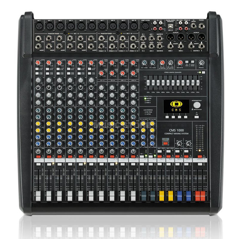 Superior Quality Dynacord CMS 1000-3 CMS1000-3 CMS 1000 Audio Mixer with Double DSP effectors From Germany