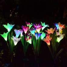 Solar Stake Light Garden Lighting LED Flower Garden Lights