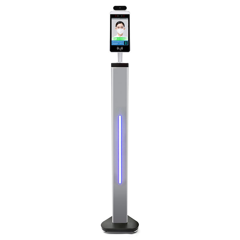 Thermal Face Recognition Kiosk Facial Imaging Machine Thermo Scanner Gate Temperature Check Screening Kiosks