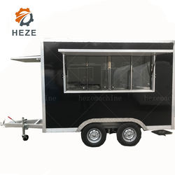 2021 Best Selling Outdoor Concession Food Trailer /Mobile Fast Food Trailer