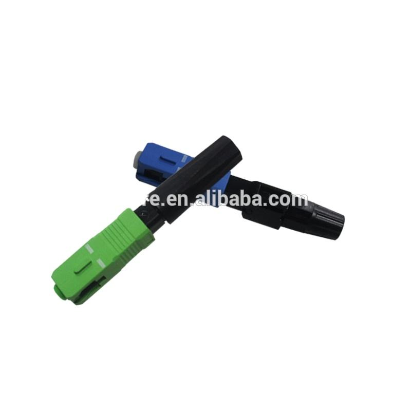 High quality FTTH field assembly quick conector FAC SC APC UPC fiber optic fast connector