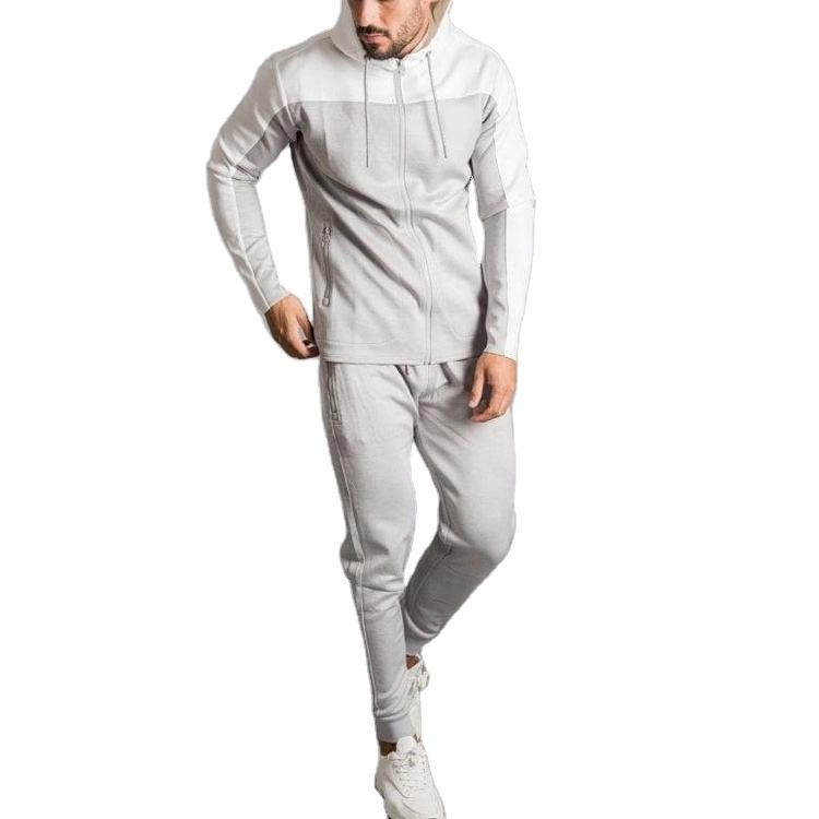 New Style Blank Tracksuit Running Training Joggers Pants Men Sweat Suits