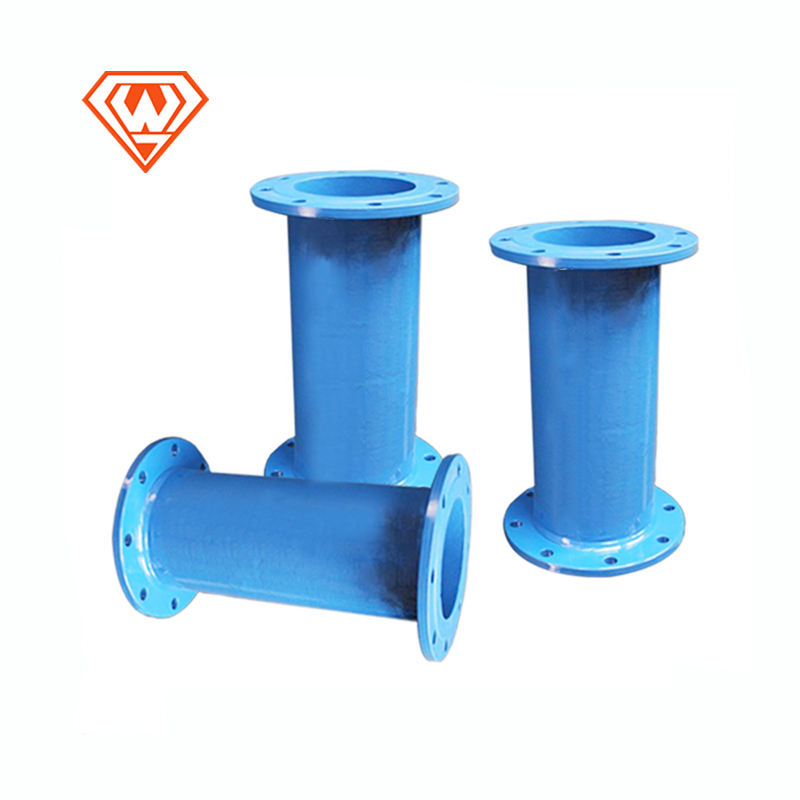 FM Certificated Ductile Iron Pipe Joint Fire Fighting Equipment Lining Straight Pipe
