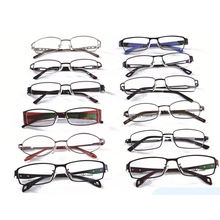 hot sell custom small size  mixed assorted ready stock eyeglass eyewear metal optical frames wenzhou factory