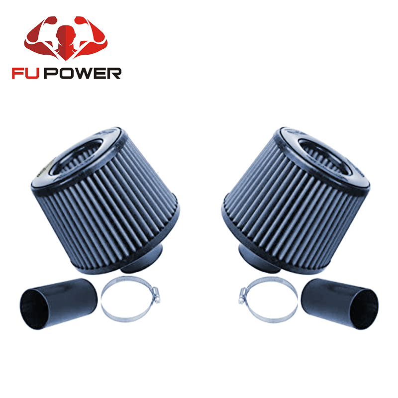Turbo N54 Dual Cone Air Filter Intake Fits BMW E90 E92 E93 E87 335i 135i Ramair Twin Cone Air Filters
