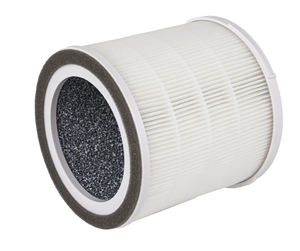 Round compressed air filter, air purifier hepa filter