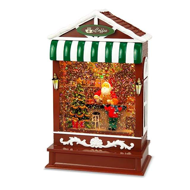 Christmas Ornaments Led House Holiday Decoration