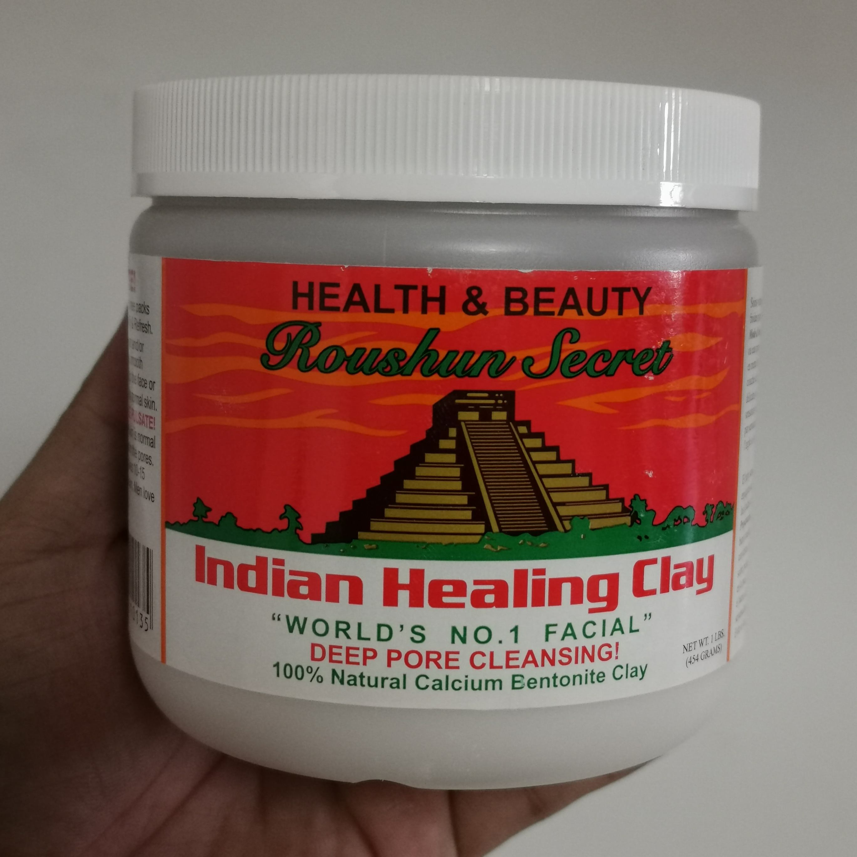 shrinks pores Balance Water Oil Repairing Indian Healing Clay Mask