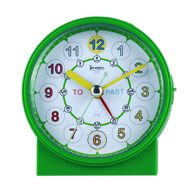 Imarch BM10603 Plastic multi-function wake up light desk non-ticking with Snooze light table smart kids alarm clock