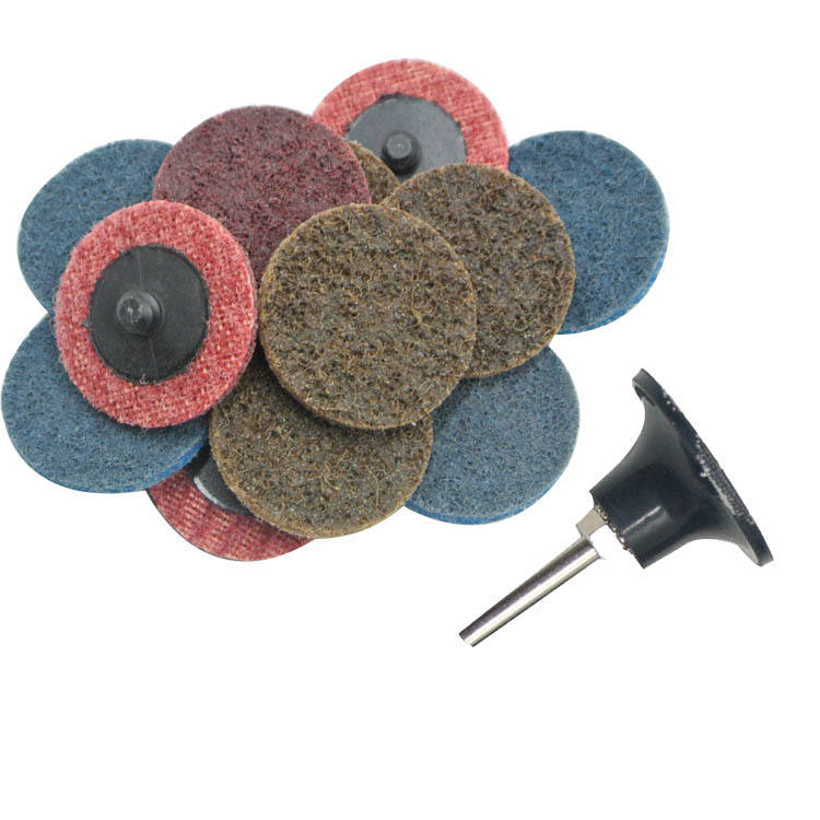 "SATC Work with Air and Electric Sanders,Features Better Surface Quality and Heat Dissipation. Discs 45 Pack+""Roloc"" Disc Pad"