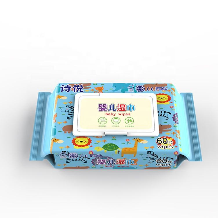 2020 Wholesale Price Surface ant Anti Wipes 80Pcs Barrel Wet Baby Wipes
