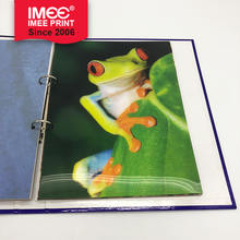 IMEE Customized Design High Quality Metal Binding Folder with Grey Board