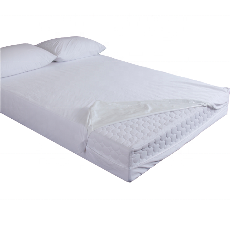 Top selling Anti-stof mijt Waterdicht Bed Bug matras encasement matras protector cover met rits