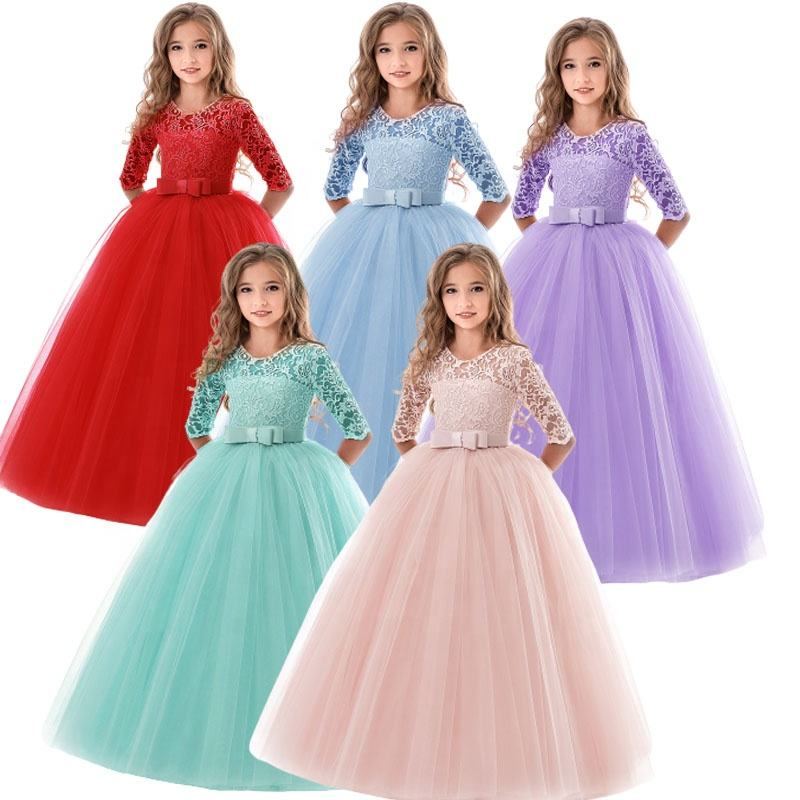 <span class=keywords><strong>Kinder</strong></span> Party Kleid Großhandel Mädchen spitze Ballkleid Mit Band Taille <span class=keywords><strong>Kinder</strong></span> Prom Kleid Prinzessin Tüll lange Kleider für <span class=keywords><strong>Kinder</strong></span>