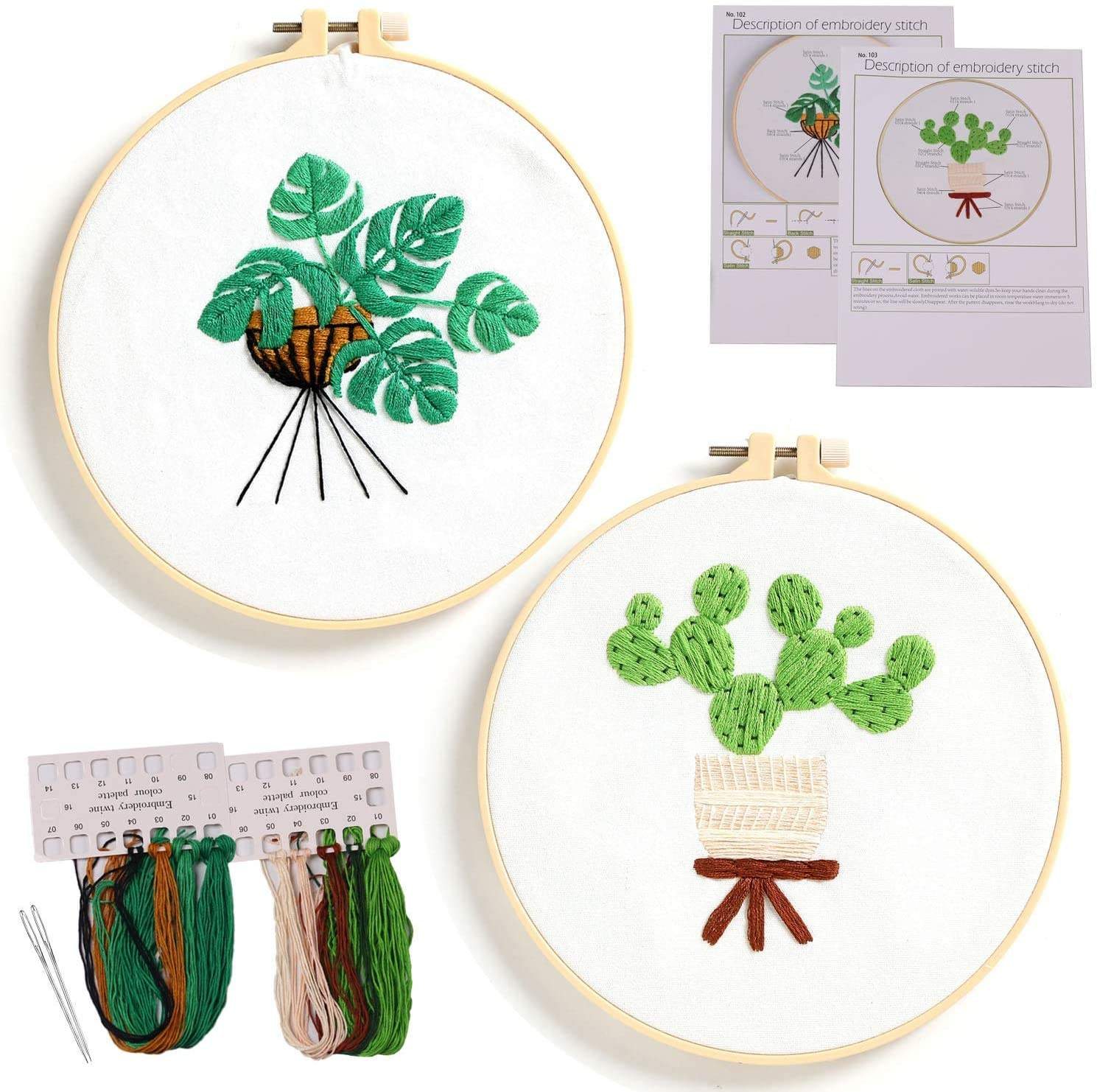 Wholesale New Arrival Cross Stitch Punch Needle Embroidery Set Kit For Adults