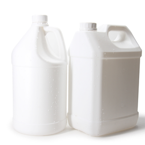 3.78L HDPE plastic white translucent gallon bottle 1 Gallon plastic water jug for hand sanitizer disinfectant and other liquid