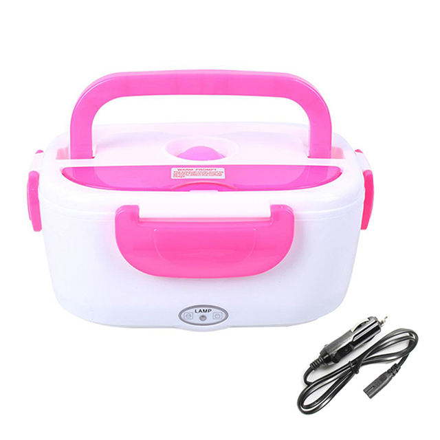 Electric Lunch Box Food Heated Plastic Stainless Steel for Car and Office Home Portable Hot Lunch Box