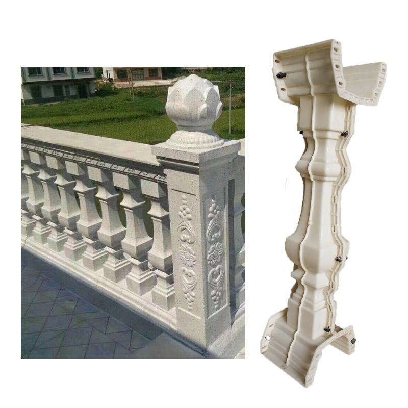 New condition ABS mould decorative concrete baluster molds stone balustrade mold