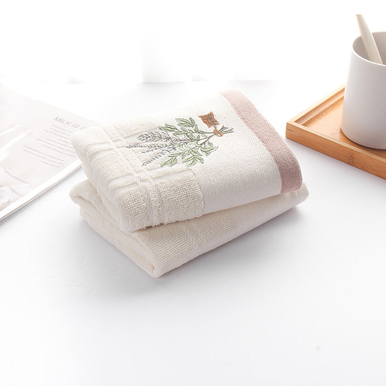 Square [ Tea Towels ] Plain Tea Towels For Printing Embroidery Souvenir Square Plain 100% Cotton Tea Towels For Printing