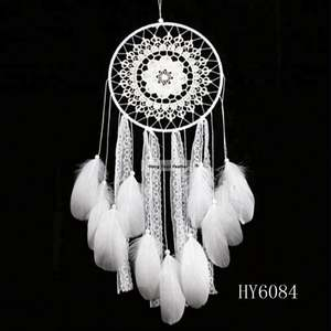 Wholesale Handmade Indian Dream catcher with feather decoration