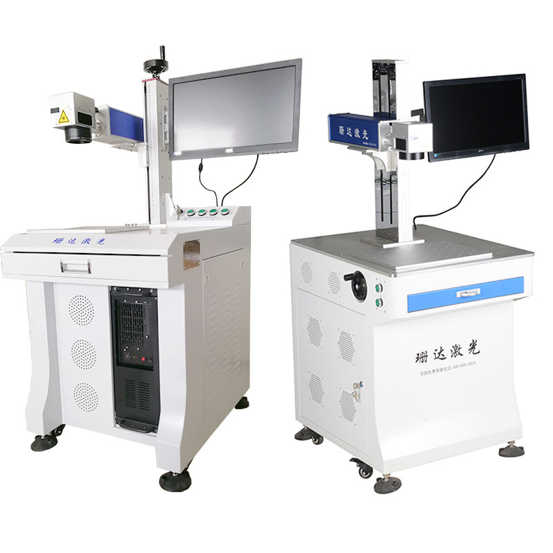 High Productivity 3d Mark Color 50w Fibre Printed Fiber Laser Marking Machine For Metal/plastic/tag/key Chains/pen