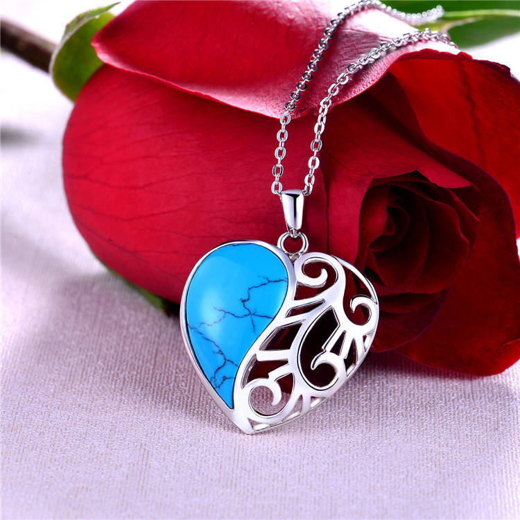 Friendship Necklace Hot Selling Wedding Anniversary Wholesale Jewelry Heart Necklace Hamsa Necklace