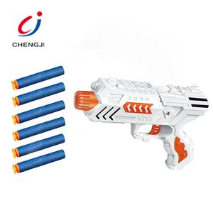 Wholesale plastic target shoot game toys air eva soft bullet kids foam dart gun