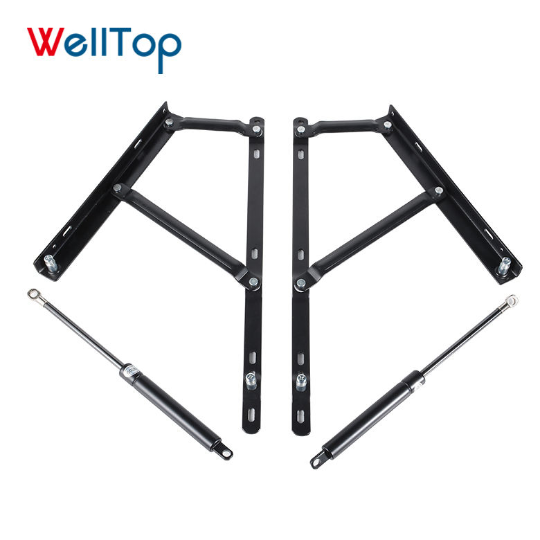 2020 Metal Furniture Frame 530mm Durable Short Bed Iron Lift Up Mechanism with 600mm Gas Spring Bed Frame VT-14.007