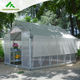 Cheap large 10m insulated aluminium profile green house metal frame singlespan greenhouses china tomato agriculture greenhouse