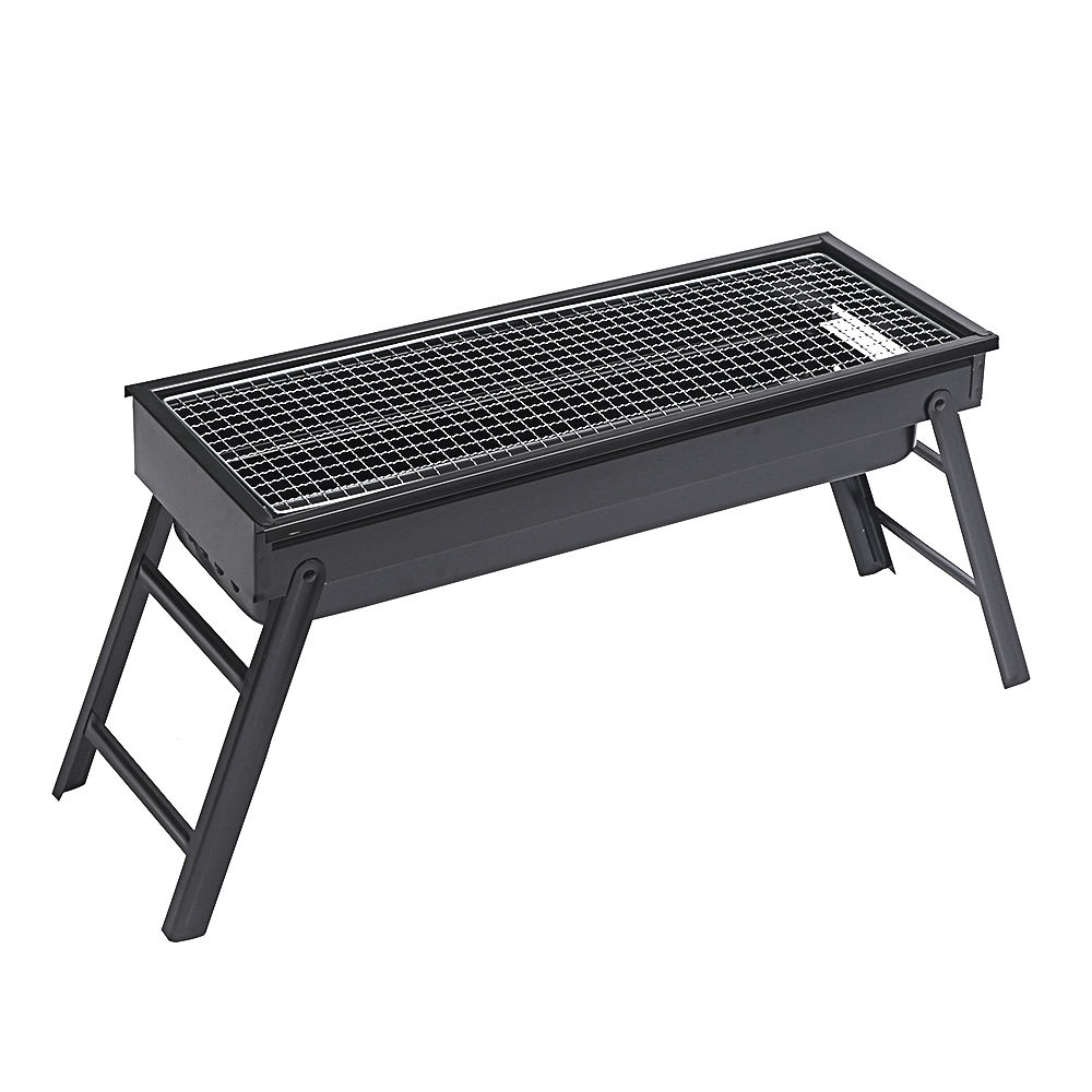 Outdoor Draagbare Roestvrij Staal Barbecue <span class=keywords><strong>Bbq</strong></span> <span class=keywords><strong>Houtskool</strong></span> Camping Grill