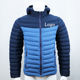 Hot sell mens waterproof goose quilted padded duck feather down jacket for winter