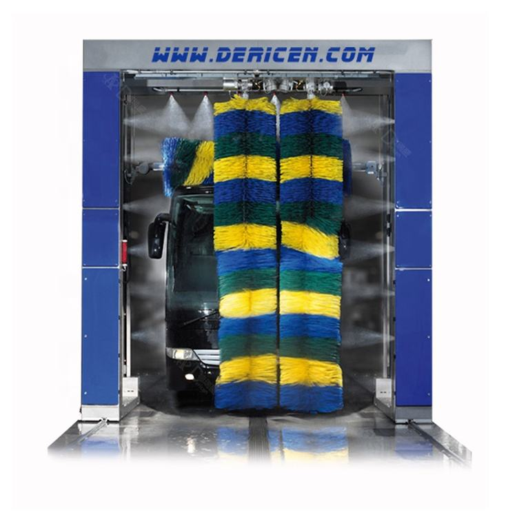 Dericen DB5 Fully automatic wash machine for bus with 5 brushes