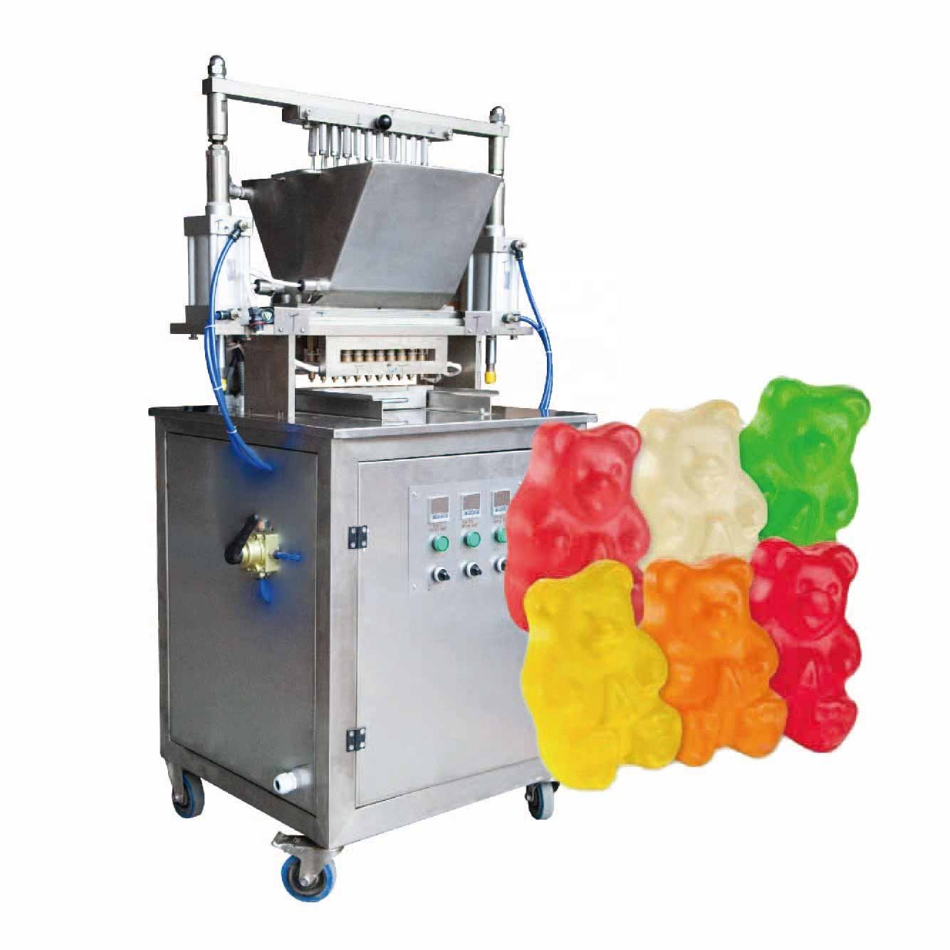 Multi functional jelly bean production line machine bonbon automatic candy maker making machine