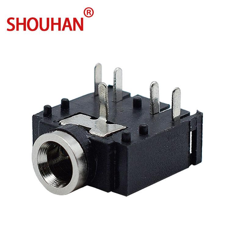 "50 PCS 5 PIN 1//8/"" 3.5mm Stereo Socket Headphones Jack PCB Panel Mount DC-306"