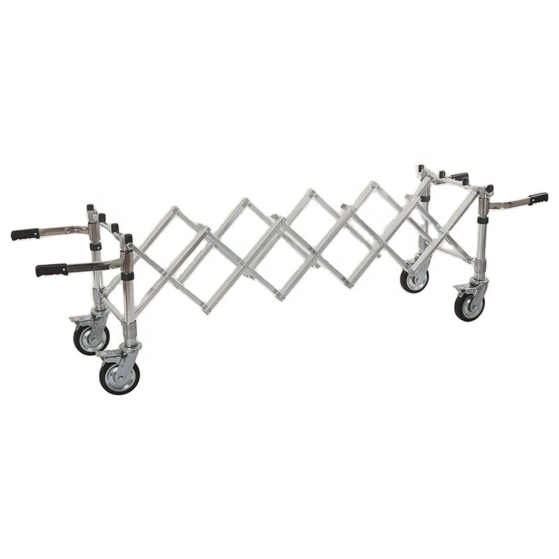 Stainless Steel Coffin Trolley Church Truck Trolley Church Truck Trolley Funeral
