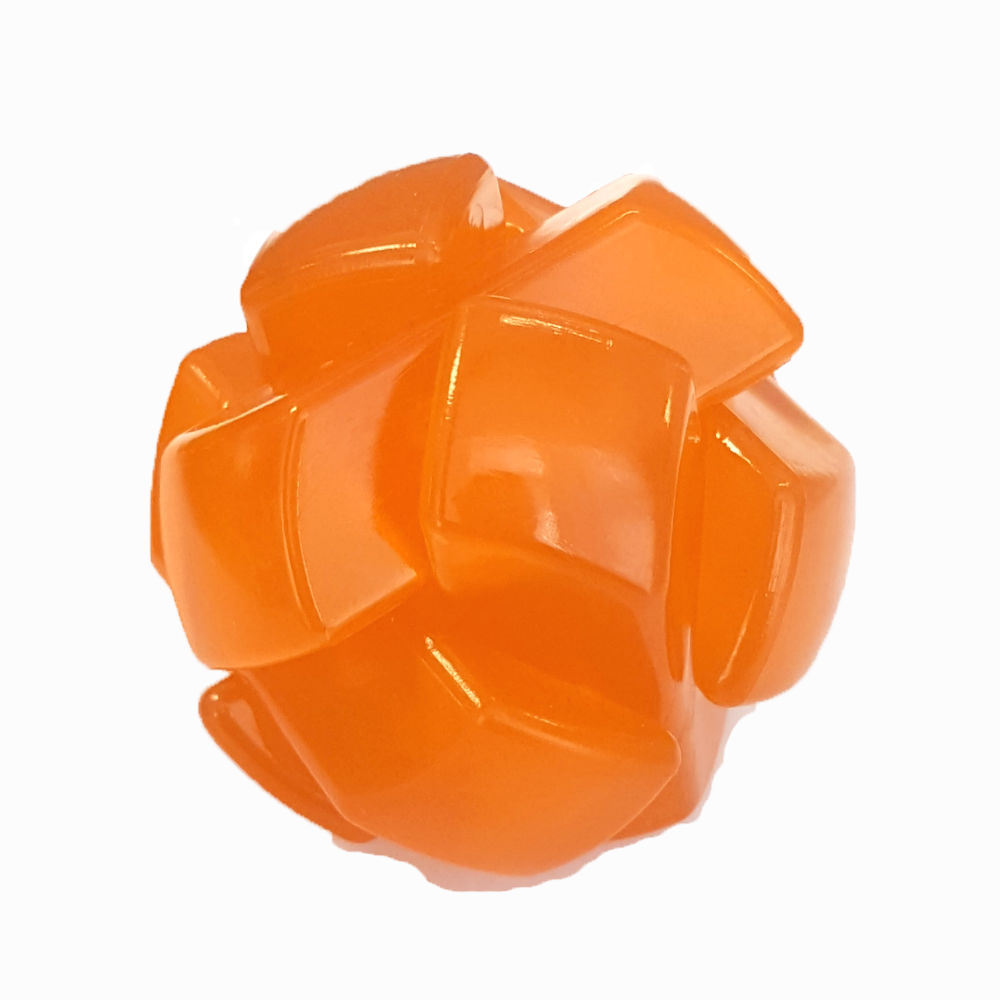 DIY Knot Assembling Jigsaw Small Capsule Crystal Plastic Interlock Burr Puzzle Toy