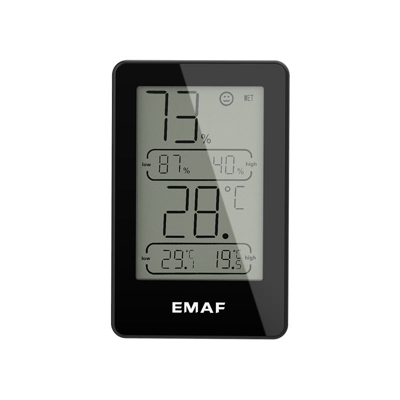 Mini Wall Digital Indoor Room Thermometer Hygrometer Temperature and Humidity Meter Gauge for Home, Office, Greenhouse